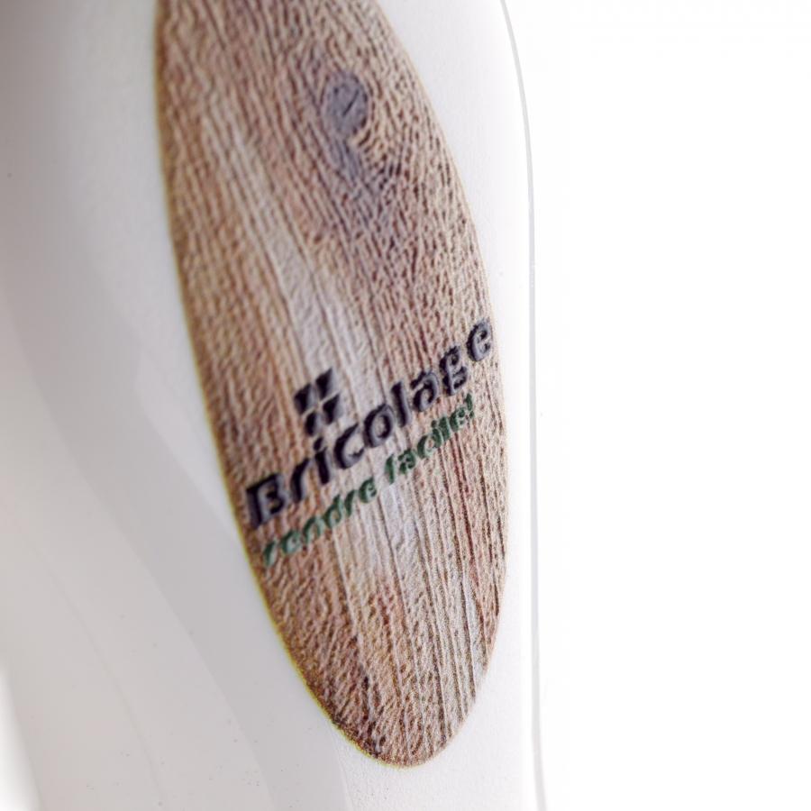 Impression publicitaire britePix™ Texture relief communication