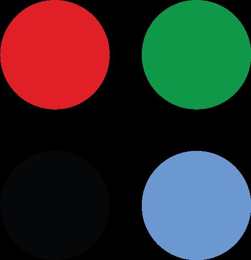 4 couleurs britePix bille