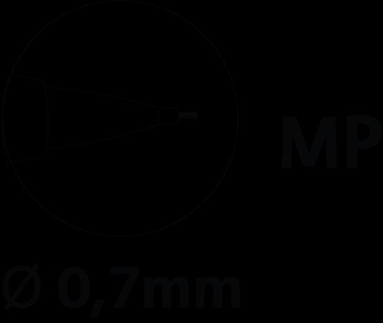 Porte-mines critérium 0,7 mm
