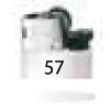 57-Blanc Opaque / Noir / Blanc