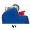 67 - Bleu Givré
