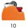 10 - Orange