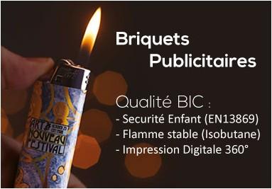 Briquet BIC Publicitaire Digitale