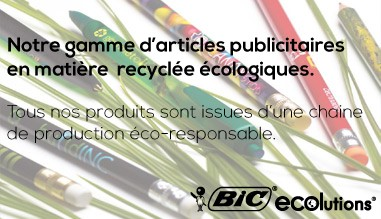 BIC Ecolutions recyclé Publicitaire