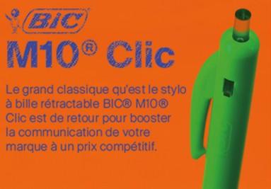 Stylo Publicitaire BIC® M10® Clic