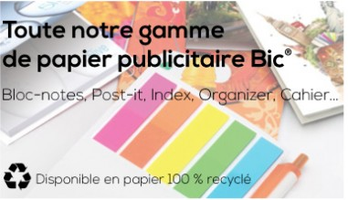 Post it Publicitaire Bic